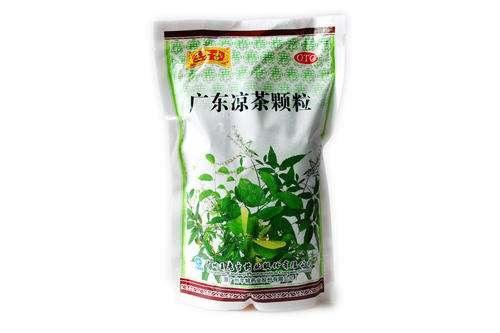 Packaged wanlaoji cool tea from Gugandong China
