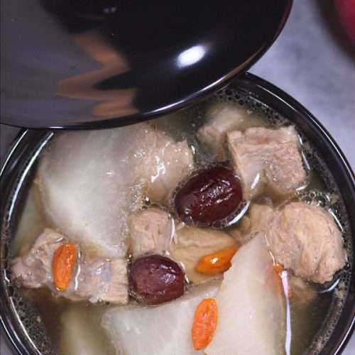 Sparerib and Radish Soup