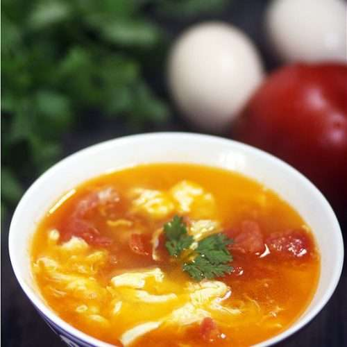Tomato Egg Soup