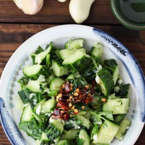 Chinese Cucumber Salad(拍黄瓜)
