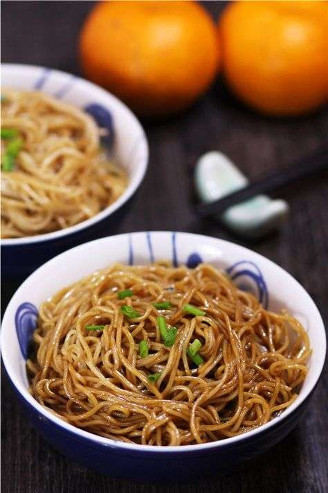 scallion oil noodles