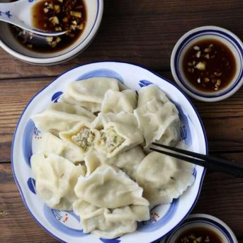 Chinese Celery Dumplings