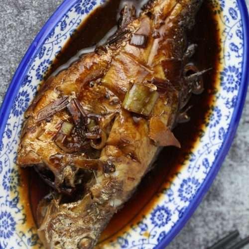 Braised Yellow Croaker Fish