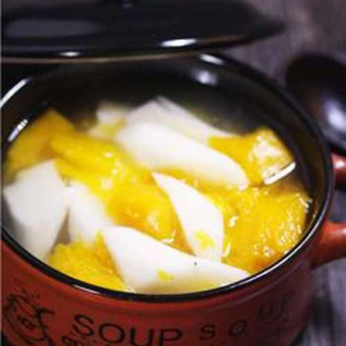Chinese Yam Pumpkin Soup
