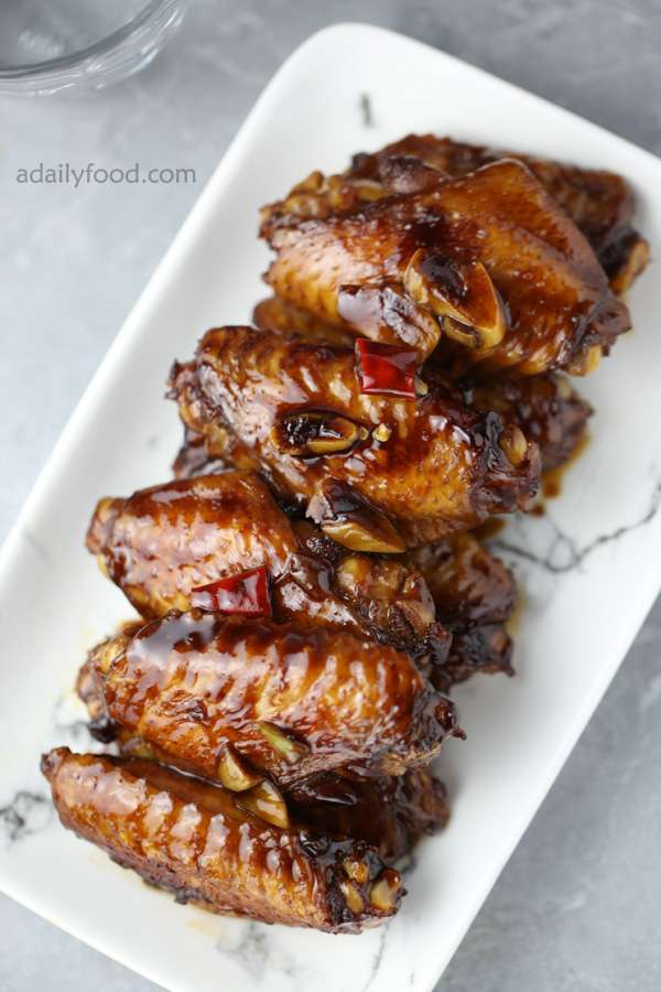 Nice braised chicken wings
