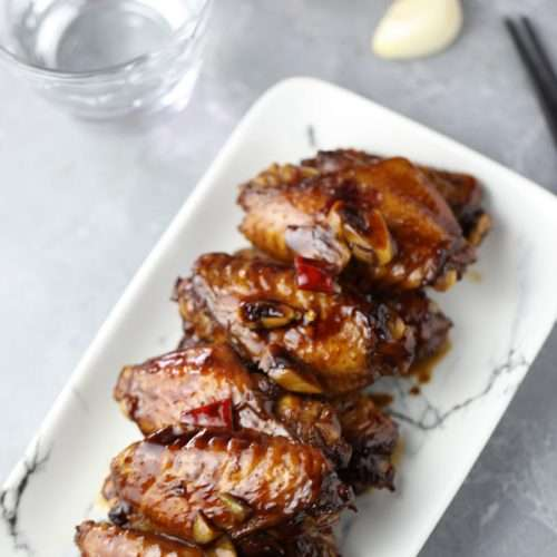 Chinese Braised Chicken Wings