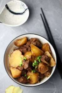 Chinese Beef Stew and Potatoes