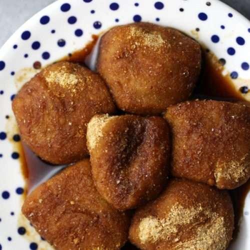 Sticky Rice Cake with Brown Sugar