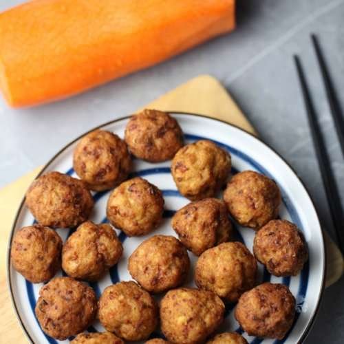 Chinese Deep Fried Meatballs