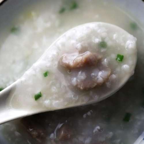 Cantonese Beef Congee