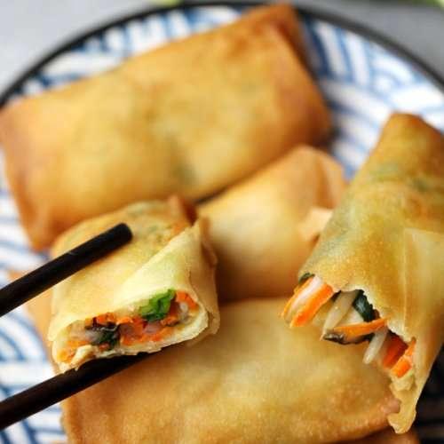 Chinese Vegetarian Spring Rolls