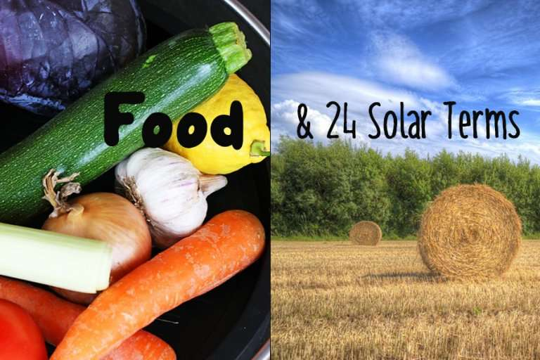 food and solar terms