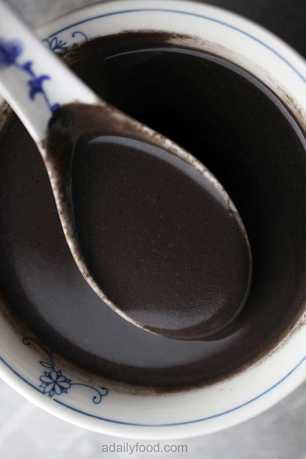Chinese Black Sesame Soup