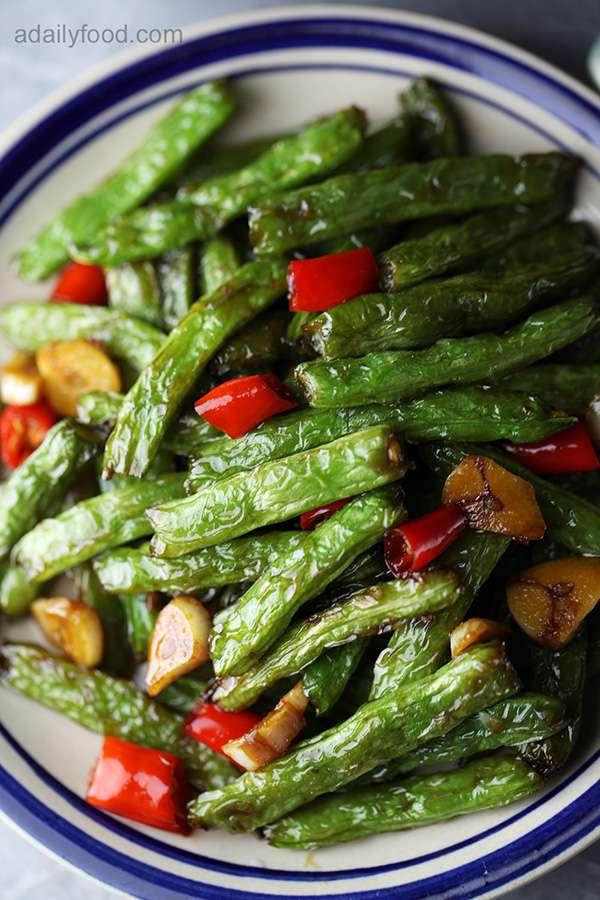 Dry Fried Green Beans(Gan Bian Green Beans)